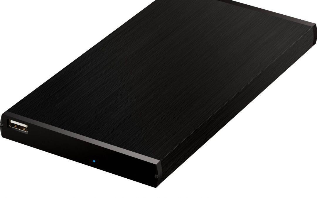 Abrent Ultra Slim 2.5-Inch SATA to USB 2.0 External Aluminum Hard Drive